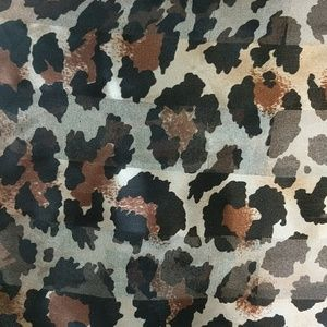 Accessories - %45 SALE* Leopard print scarf